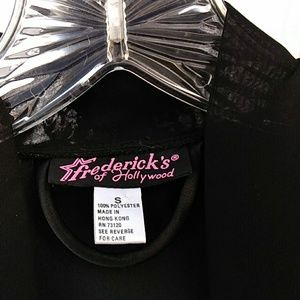 Fredrick's of Hollywood  Black  Robe